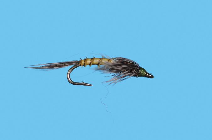 Solitude Fly Flashback Biot Nymph BWO