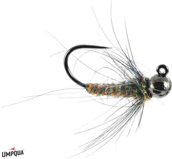 Umpqua Jigged Caddis Pupa Tan 12