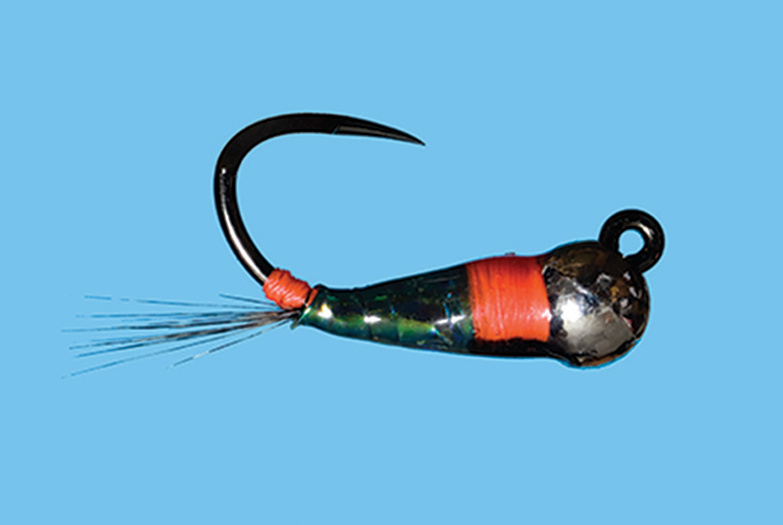 Solitude Fly Tungsten Peacock