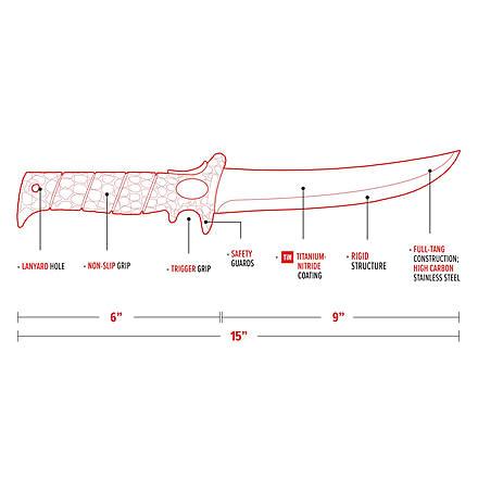 """Bubba Blade Bubba Blade BB1-9S 9"""" Stiffie Knife"""