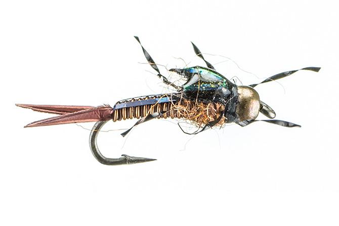 Montana Fly Trina's Copper Micro-Stone