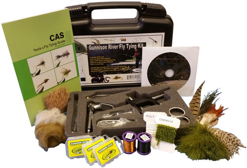 Colorado Angler Supply Gunnison River Fly Tying Kit w/Tools