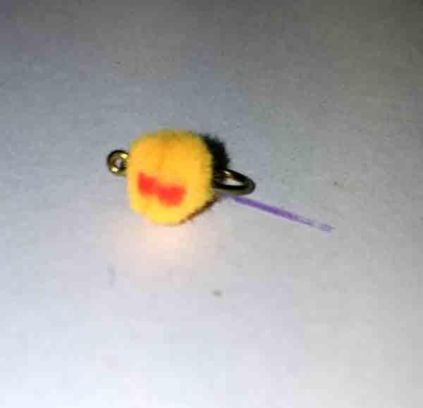 Umpqua Flashtail Mini Egg  (q2)