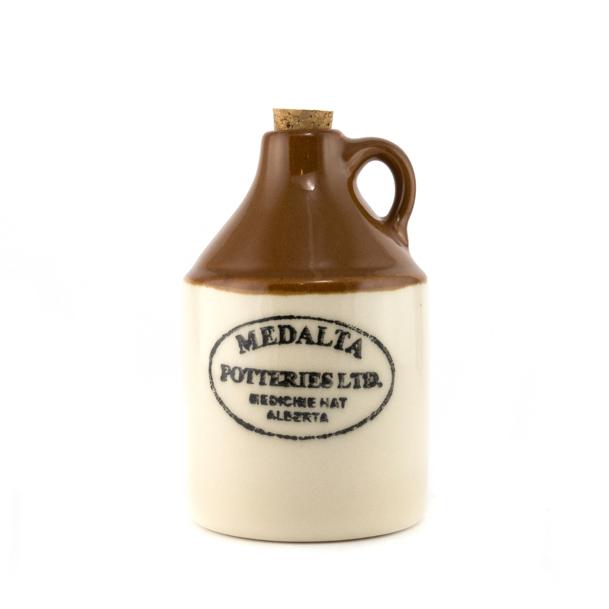 Medalta Ware Reproduction Brown Jug