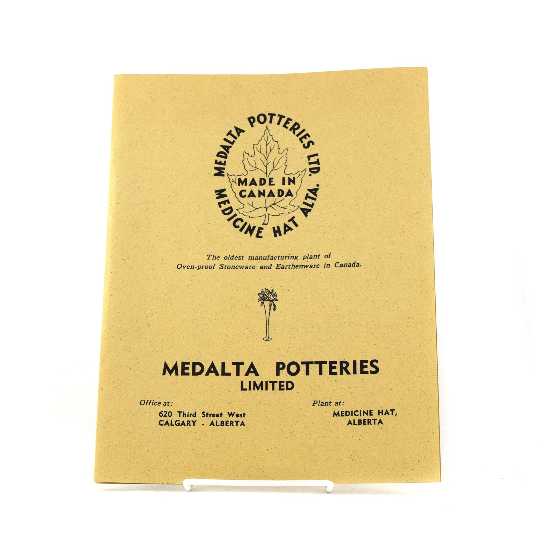1939 Medalta Catalogue
