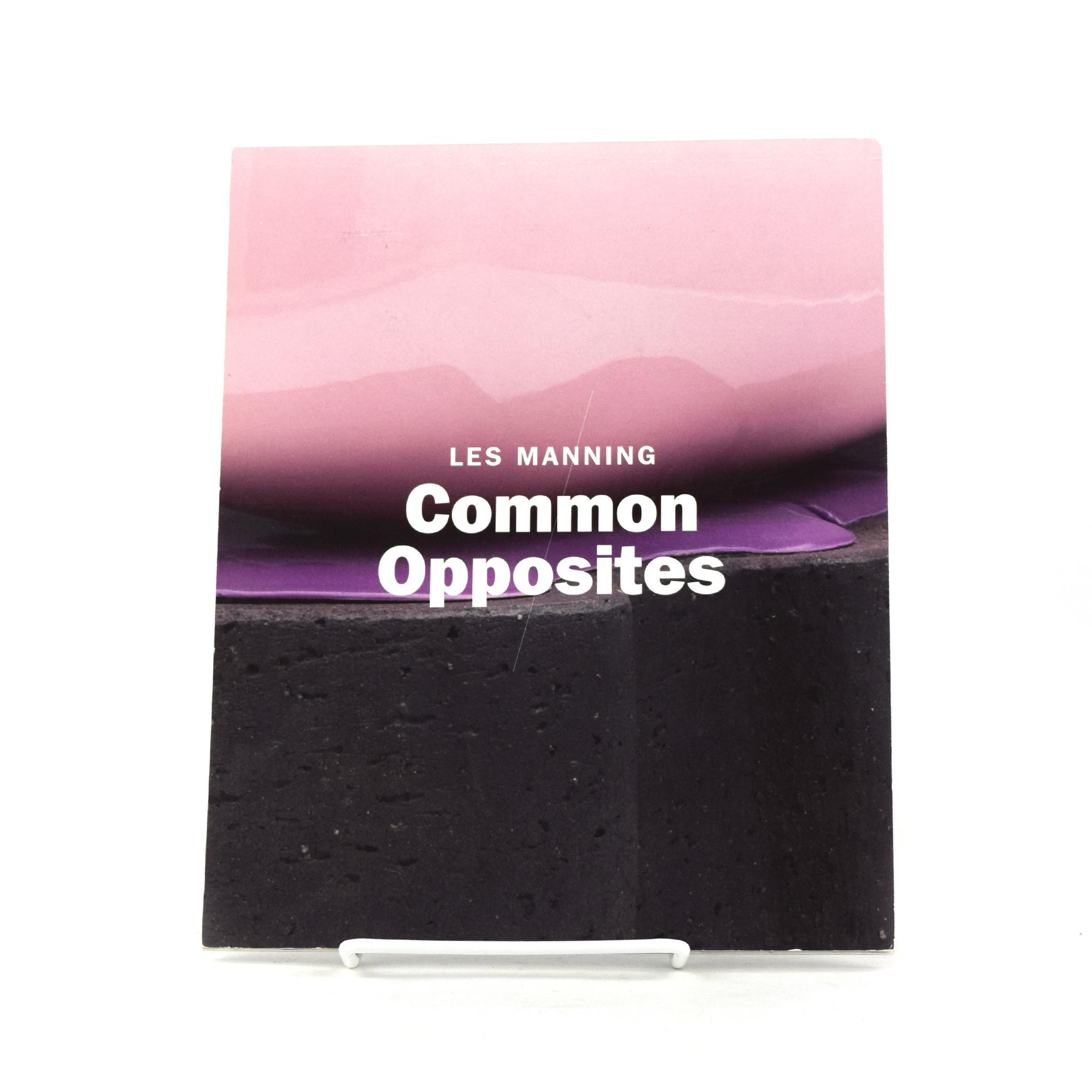 Les Manning's Common/Opposites