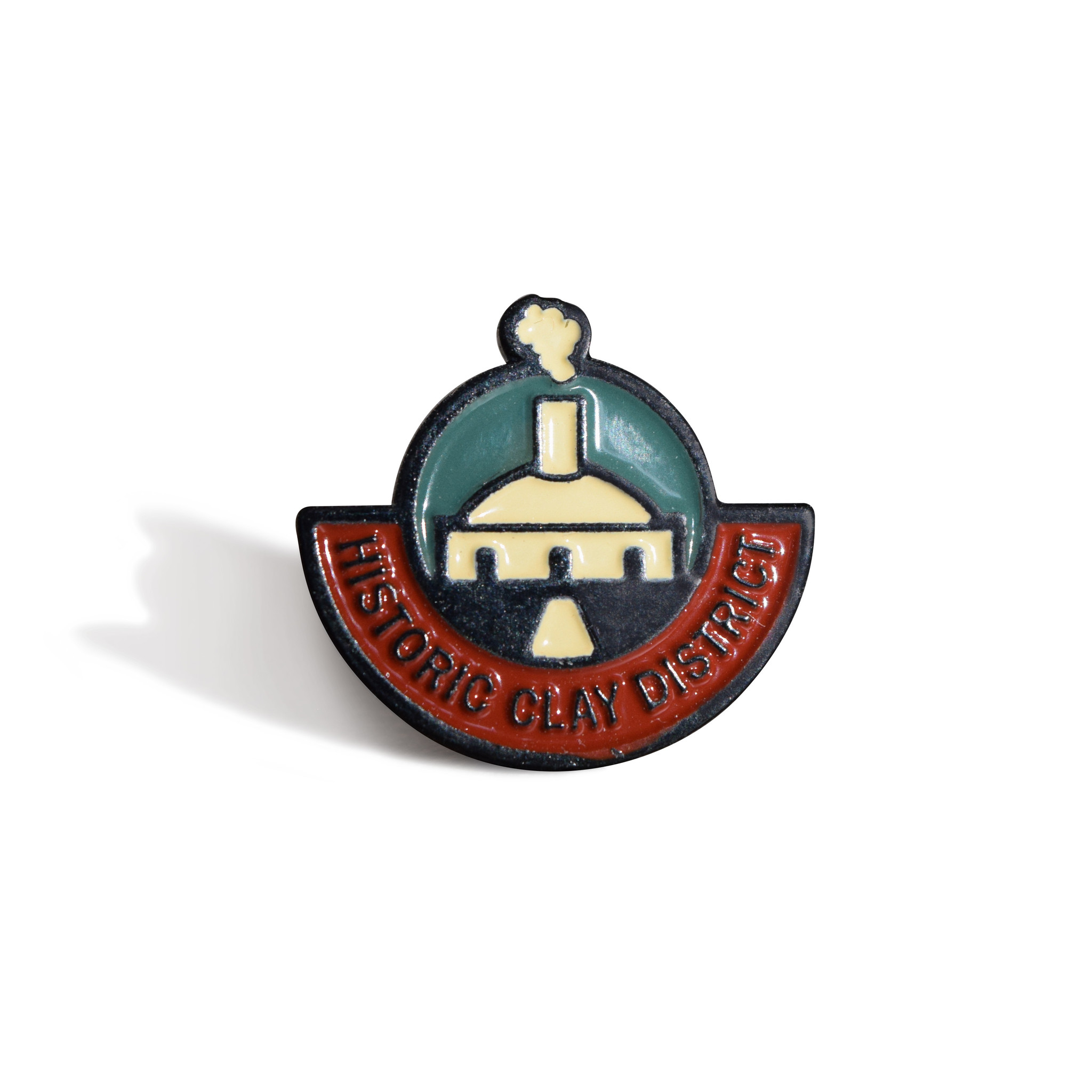 Historic Clay District Lapel Pin