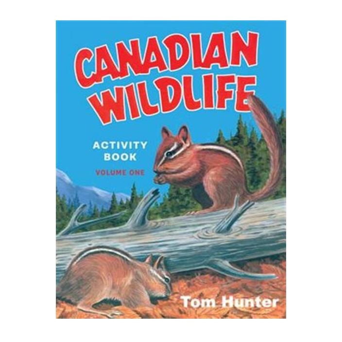 Canadian Wildlife Activity Book: Volume One