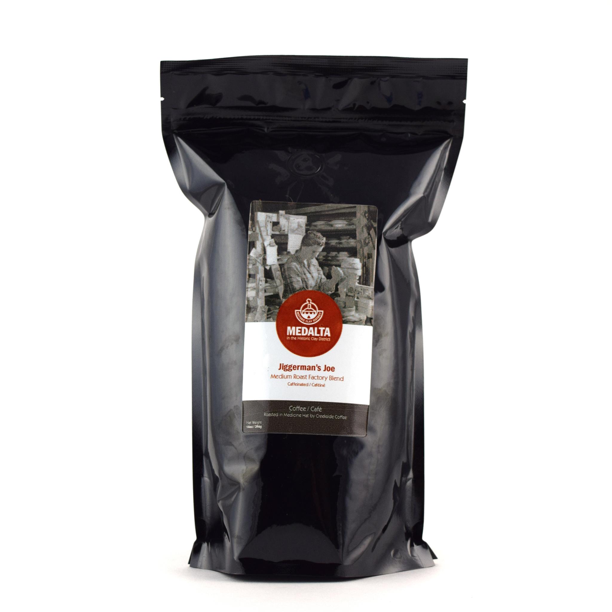 Creekside Coffee 'Jiggerman Joe'  Blend, 14 oz