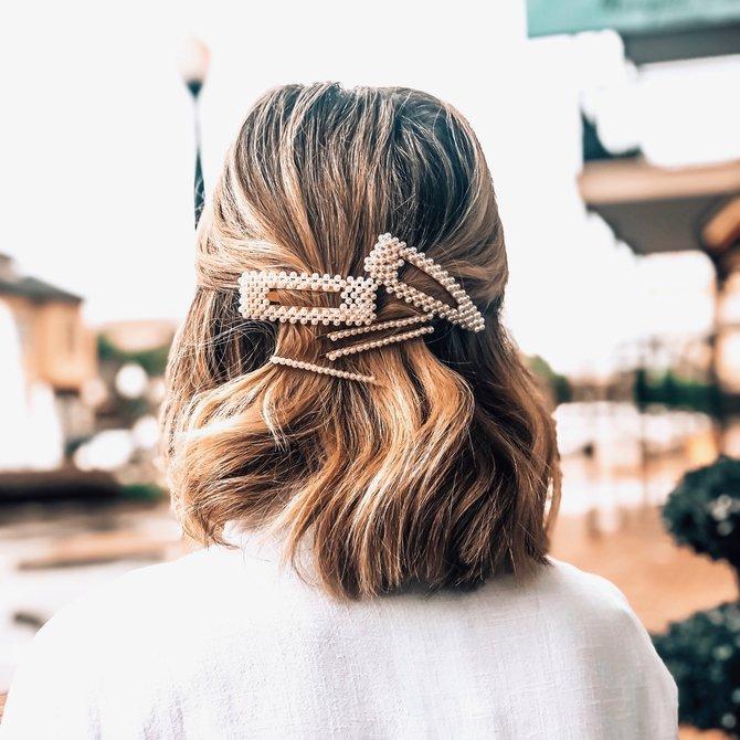 Morgan Claire Pearl Hair Clip
