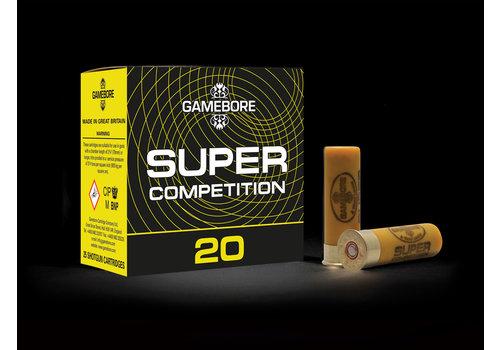OTP033-GAMEBORE SUPER COMPETITION 20G 70MM 28GM #7.5 1350FPS 25 RNDS
