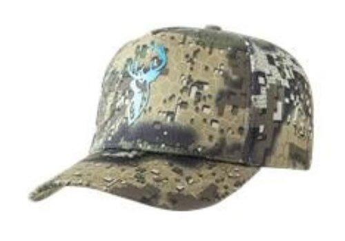 HUNTERS ELEMENT HEAT BEATER STAG CAP (BLUE STAG DESOLVE VEIL)(HUE901)
