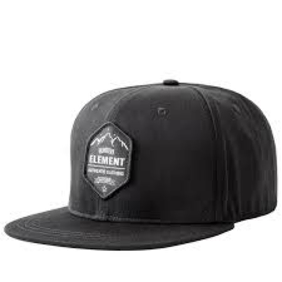 HUNTERS ELEMENT GRAPHITE CAP BLACK(HUE626)
