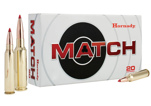 HES012-HORNADY MATCH 308 WIN 168GR ELD 20RNDS