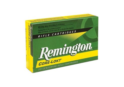 RAY160-REMINGTON CORE-LOKT 303 BRITISH 180GR SP 20Pk