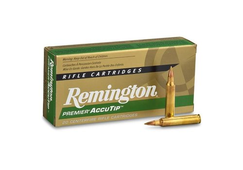 REMINGTON PREMIER 204 RUGER 40GR ACCUTIP - V BT 20RNDS (RAY349)
