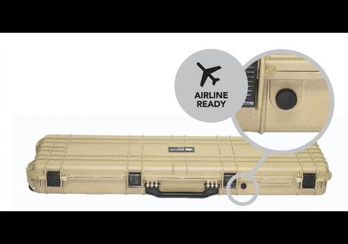EVOLUTION GEAR RIFLE HARD GUN CASE XL DESERT TAN (EVO010)
