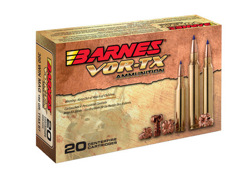 RAY653-Barnes VOR-TX 300RUM 165Gr TTSX BT 20PK