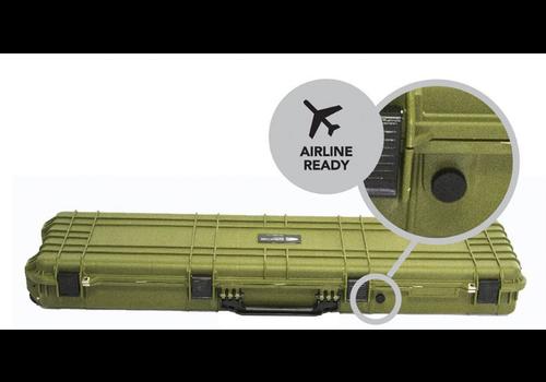 EVOLUTION GEAR HD SERIES RIFLE HARD GUN CASE M - OLIVE DRAB (EVO013)