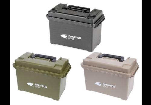 EVO047-EVO MEDIUM AMMO BOX/DRY BOX OLIVE DRAB WEATHERPROOF