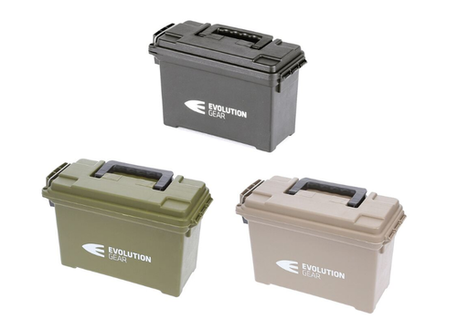 EVO051-EVO SMALL AMMO BOX/DRY BOX DESERT TAN WEATHERPROOF