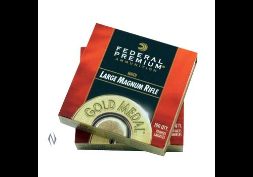 PRIMERS-FEDERAL PRIMER GM215M GOLD MEDAL LARGE RIFLE MAGNUM 100RNDS(NIO627)