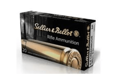 BER1734-SELLIER & BELLOT 6.5 CREEDMOOR 140GR SP 20RNDS
