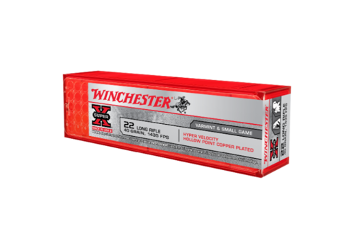 WINCHESTER SUPER X HYPER VELOCITY 22LR 40 GR HPCP 1435FPS 100RNDS (WIN138)