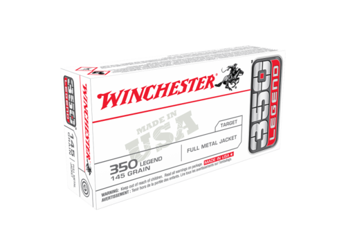 WIN167-WINCHESTER USA VALUE PACK 350 LEGEND 145GR FMJ 20RNDS