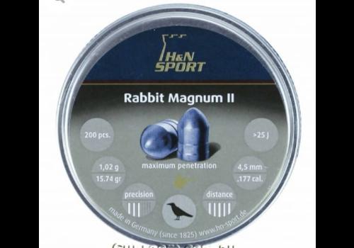 ALC128-PELLETS- H&N RABBIT MAGNUM II 22 200RNDS