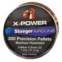 BER1528-PELLETS-STOEGER X-POWER 22 200RNDS
