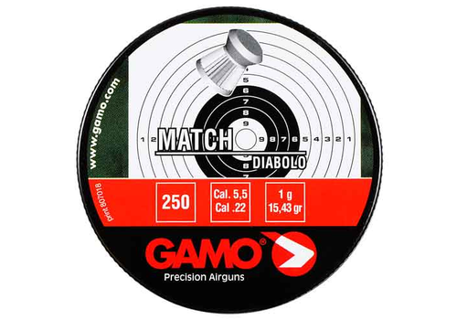 OSA2215-PELLETS-GAMO MATCH 22 25RNDS