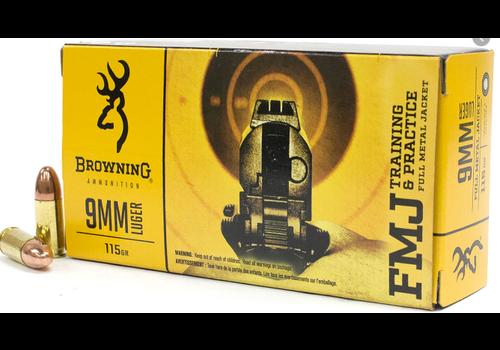 WIN1127-Browning 9mm 115Gr FMJ 50Pk