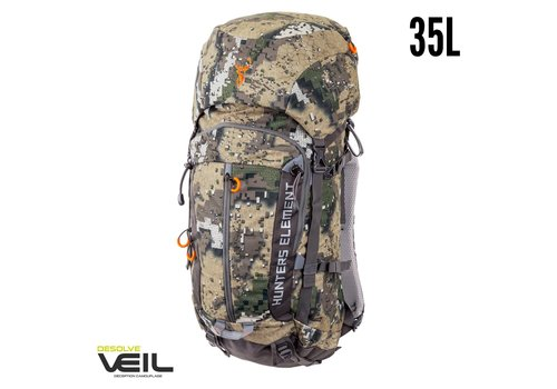 HUE373-HUNTERS ELEMENT BOUNDARY PACK DESOLVE VEIL 35L