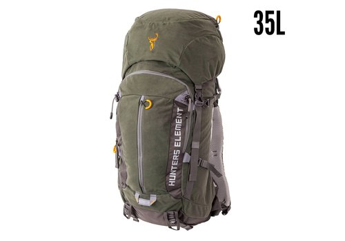 HUNTERS ELEMENT BOUNDARY PACK FOREST GREEN 35L(HUE374)