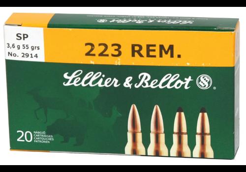 BER405-S&B 223 REM 55GR SP 20RNDS
