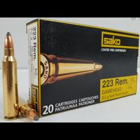 BER2575-SAKO GAMEHEAD 223 REM 50GR SP 20RNDS