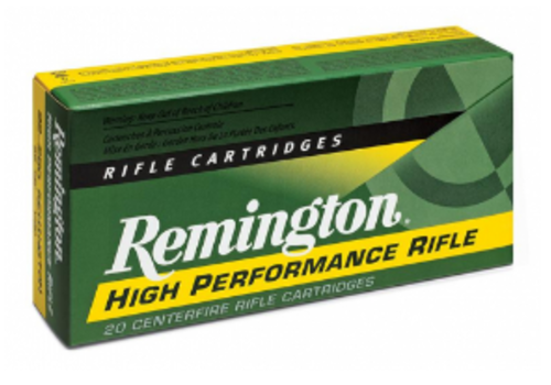 RAY122-REMINGTON HIGH PERFORMANCE RIFLE 222 REM 50GR PSP 20RNDS