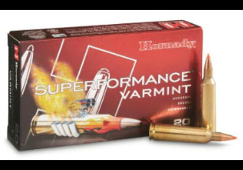 HORNADY SUPERFORMANCE 222 REM 50GR V-MAX 20RNDS (OSA078)