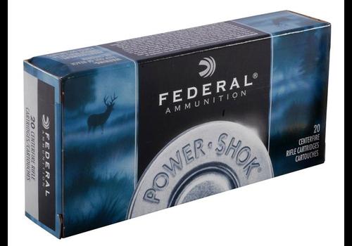 FEDERAL POWER-SHOK 243 WIN 100GR SP 20RNDS(NIO076)