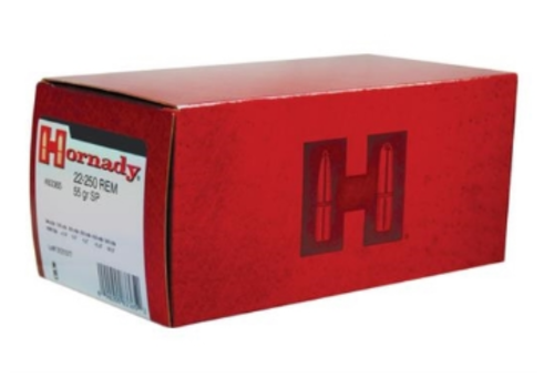 OSA1969-HORNADY 22-250 REM 55GR SPIRE POINT  50RNDS