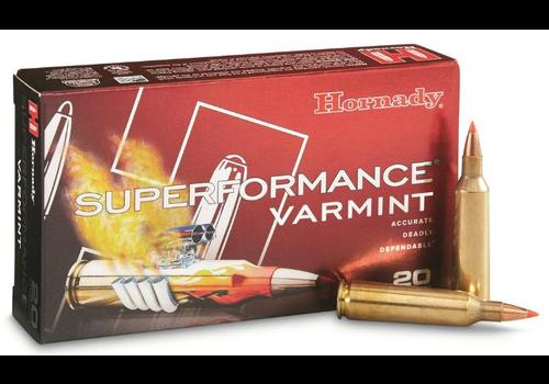 HES009-HORNADY SUPERFORMANCE  22-250 REM 50GR V-MAX 20RNDS