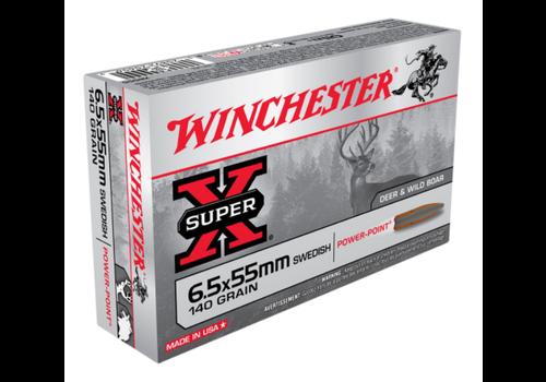 WINCHESTER SUPER X 6.5X55 SWEDISH 140GR SP 20RNDS (WIN842)
