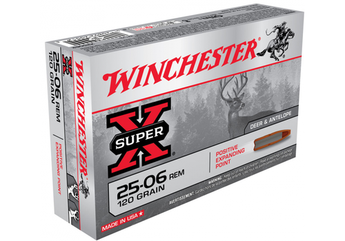 WIN1297-WINCHESTER SUPER X 25-06 REM 120GR PEP 20RNDS