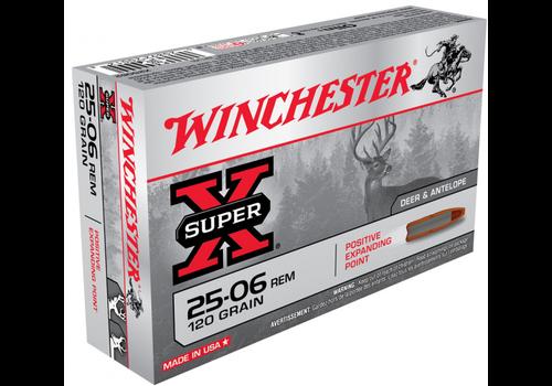 WINCHESTER SUPER X 25-06 REM 120GR PEP 20RNDS (WIN1297)