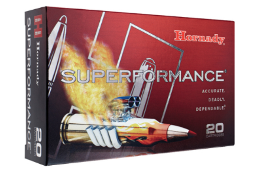 HORNADY SUPERFORMANCE 7MM-08 REM 139GR GMX 20RNDS (OSA636)