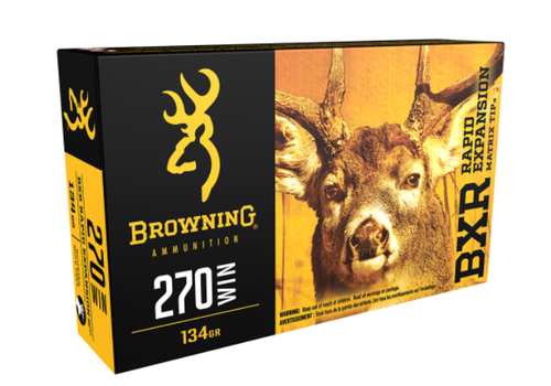 WIN1129-BROWNING BXR 270 WIN 134GR REMT 20RNDS