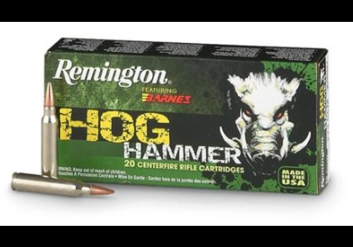 REMINGTON HOG HAMMER 30-06 SPRG 168GR BARNES TSX 20RNDS (RAY1990)