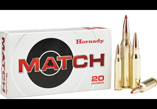 HES011-HORNADY MATCH 308 WIN 168GR BTHP 20RNDS