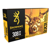 Browning BROWNING BXR 308 WIN 155GR REMT 20RNDS (WIN1131)